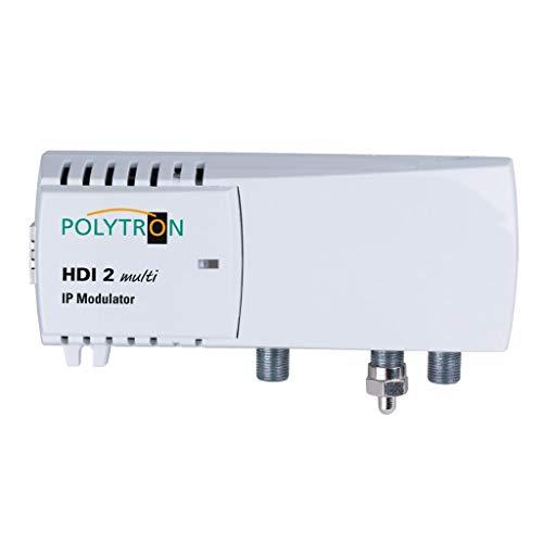Polytron HDI 2 Multi Modulator - 2 IP Quellen in 2 benachbarte Kanäle DVB-C/T