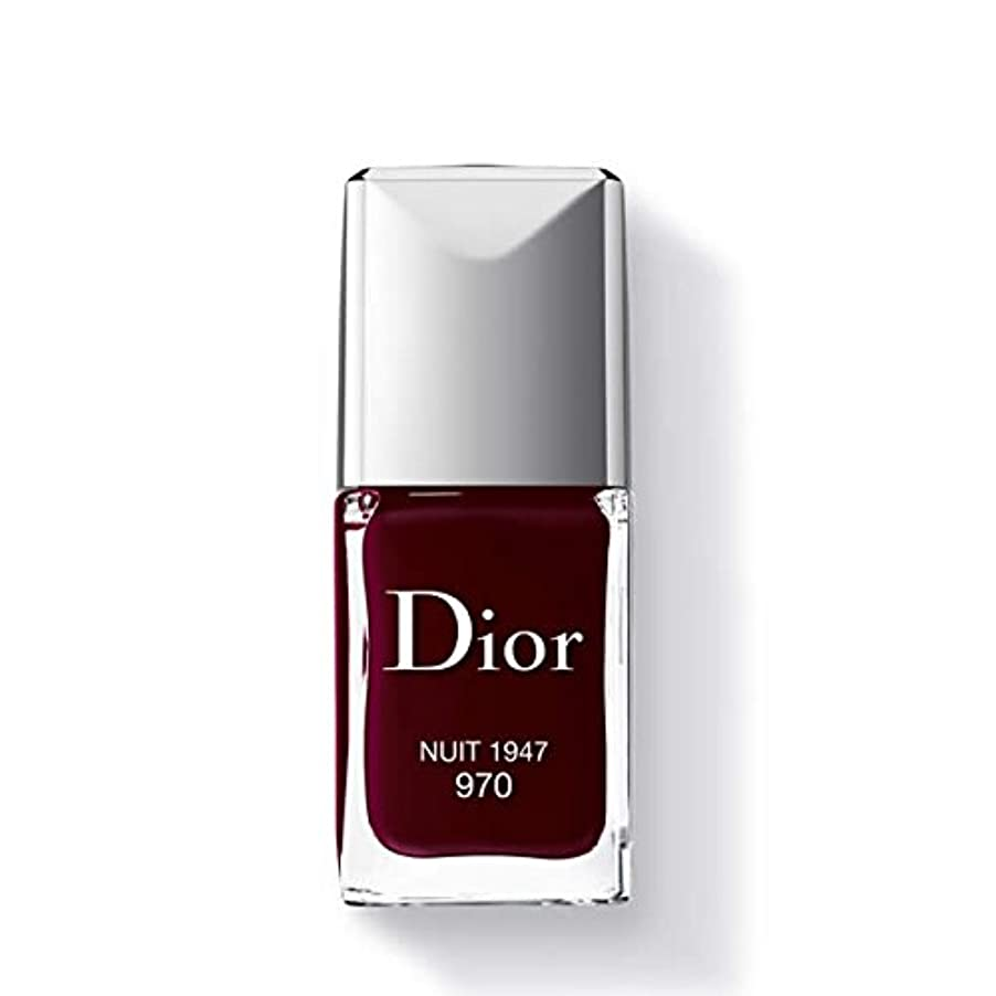 柔らかいまばたき端Dior ディオールヴェルニ #970 ニュイ1947 / 10ml [207942] [並行輸入品]