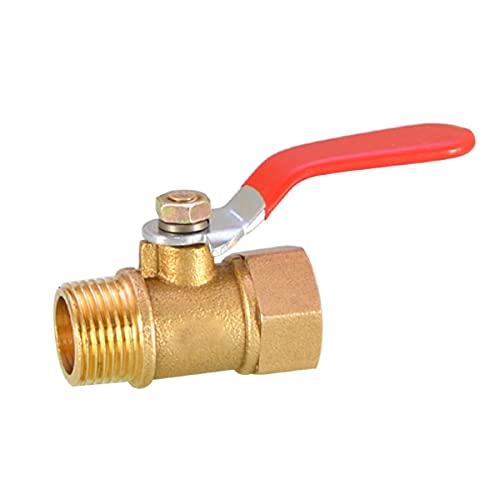 LEISHENT Válvula de Bola Interruptor con Mango Largo Enlace rápido del Hilo para colectores de Agua de Lluvia,Tanques de Agua de Lluvia de Esquina
