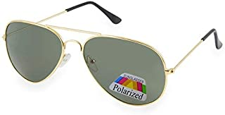 Vintage Retro Original Pilot Mirrored Mirror lens Polarized Sunglasses Glasses Air Force Unisex Vintage lens UV400 MFAZ Mo...