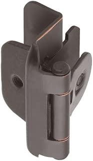 Amerock BPR8704ORB 1/2in (13 mm) Overlay Double Demountable Oil-Rubbed Bronze Hinge - 2 Pack