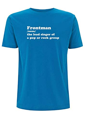 Front Man Betekenis T Shirt Mens Top Tshirt Lead Singer pop Group Rock Music Band Gig Muziek Muziek