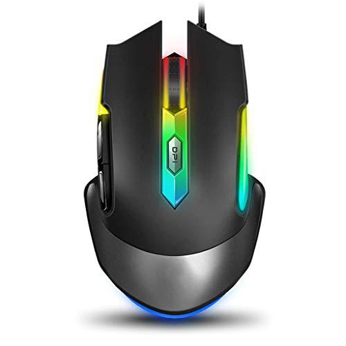 BBYTR Mäuse Maus Optical Game Wired Mouse 7 Programmierbare Taste Optischer Sensor Professionelle Gaming-Maus Computermäuse