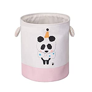 BIOHOT Large Storage Bins, Laundry Baskets, Collapsible & Convenient Nursery Hamper, Toy Collection Organizer for Kid's Room, Gift Baskets, Bedroom, Baby Nursery(Deer)