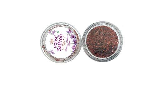 House of Saffron 20grams Kashmir Mogra Kesar Premium Original Keshar for Pregnant Women, Cooking, Beauty, Fair Skin, Tilak All Red...