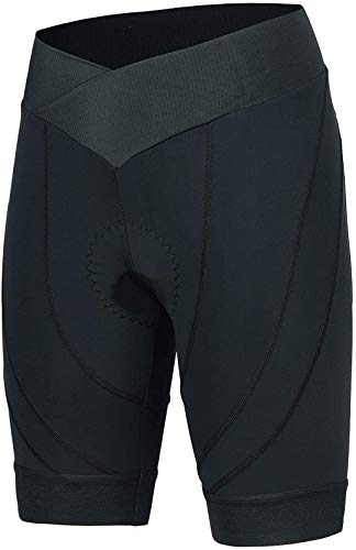 beroy Womens Bike Shorts with 3D Gel Padded,Cycling Women's Shorts - Black - XXXL