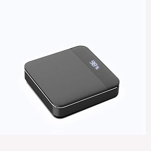 YDXW Mini Power Bank 16000mAh Portable Charger Compact met kabel snel opladen externe accu, hoge capaciteit klein licht LED Digital Display voor iPhone, iPad, Huawei, Smartphone