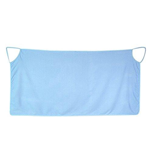 Badetuch-Strandtuch Dusche Pool Spa Damen Riemen Schulter Doppelzimmer Microfiber Super Weich Weiß Blau Violett blau