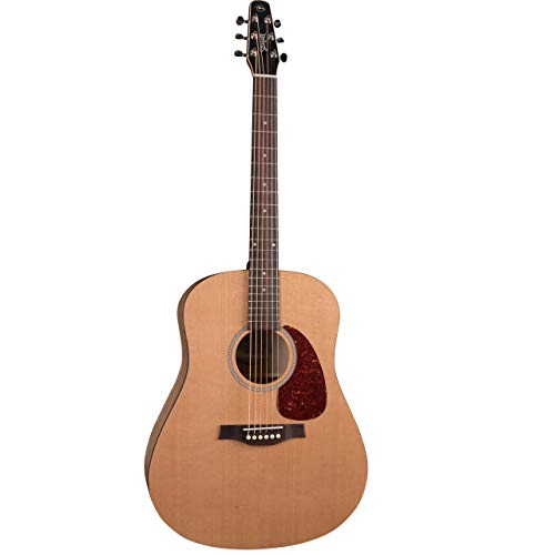 Seagull S6 Classic EQ Natural Dreadnought Acoustic-Electric Guitar (041237)