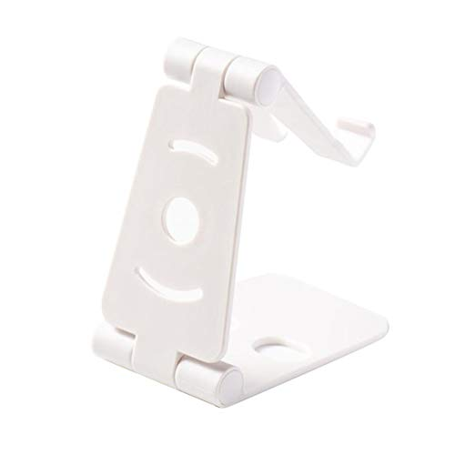 SeniorMar-UK Phone Stand Cell Phone Stand Mobile Phone Holder Bracket Mount Desk Stand Double Folding Portable for Tablet