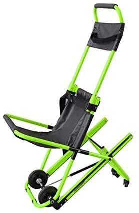 GLJY Klappbare Kettenstütze mit Kettenrad und 4 Rädern Aluminium Leichtgewichtige medizinische Mobilitätshilfe mit Schnellverschlüssen für ältere Menschen mit Behinderungen,B