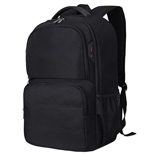 17.3-Inch Laptop Backpack, Anti Theft Business College School Travel with USB Charging Port Headphone Jack Interface Water-Resistant Business Computer Backpack Bag