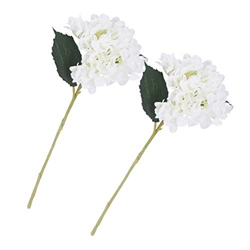 HEMOTON Künstliche Hortensien Blume mit...