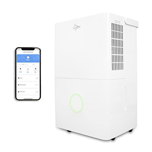 KLIMATRONIC Luftentfeuchter DryFix 3000 [Für Räume bis 80 m³ (~34 m²), Entfeuchtungsleistung = 30 l/Tag, inkl. Luftreinigungsfunktion]