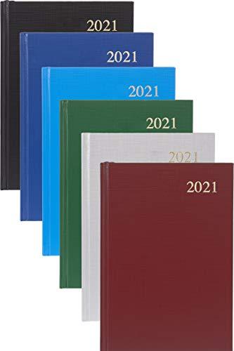 Collins Essential - Agenda giornaliera 2021, formato A4, colori assortiti
