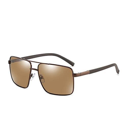 HPPSLT Gafas de Sol Polarizadas Clásico Retro para UV400 Protection, Gafas de Sol polarizadas Gafas de Sol con protección UV-4 4