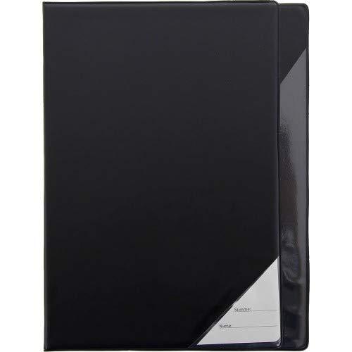 STAR 662-S Notenmappe A4 22 x 31 elegantes Kunstleder schwarz