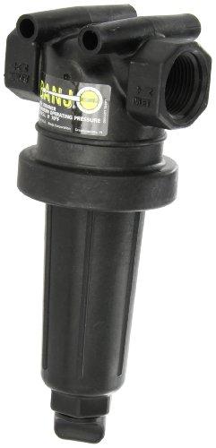 Banjo LST100-80 Polypropylene T-Strainer, 80 Mesh, 1