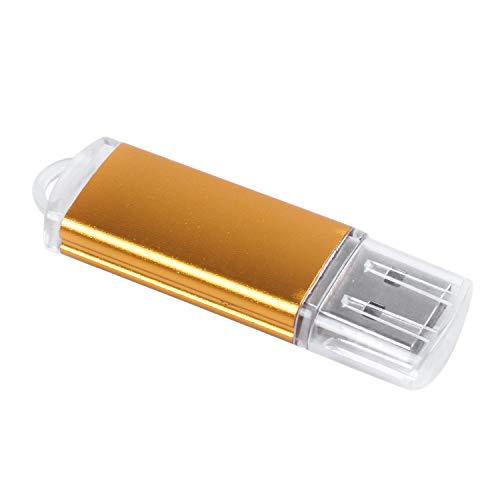 Beauneo USB Memory Stick Flash Pen Drive U Disk para Ps3 Ps4 Pc TV Color: Oro Capacidad: 64Mb