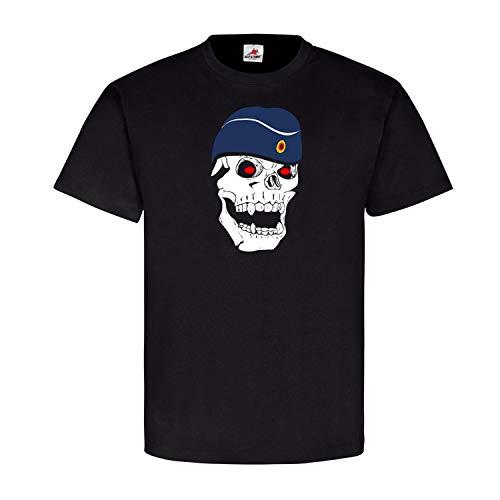 Deutscher Matrose Marine Schiffchen Skull Totenkopf - T Shirt #5607, Größe:XL, Farbe:Schwarz