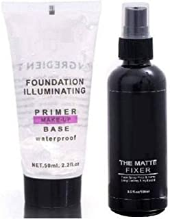 Most Beautiful Trending Fixer combo with Primer Foundation Luxury Primer