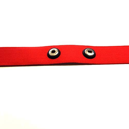 Soft strap–para pecho correa de tamaño M XXL en rojo–red Polar para los modelos H1, H2, H3, H6, H7, H10en tallas M–XXL