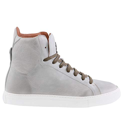 Matchless Damen Leder Sneaker Schuhe Lewis HIGH Antique Mud 142051 (37)
