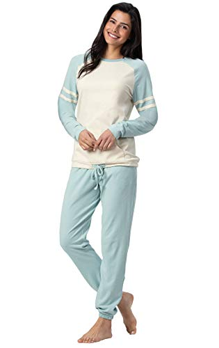 Addison Meadow Cute Pajamas for Women - Pajama Set, Aqua, Small, 4-6