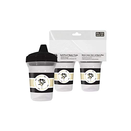 NHL Pittsburgh Penguins Sippy Cups - Set of 2