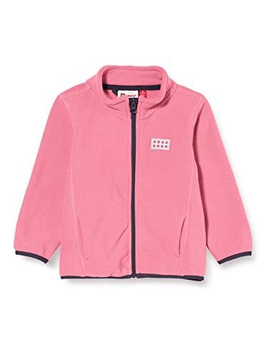 Lego Wear Mädchen Lwsam Fleecejacke Jacke, Rosa (Pink 456), (Herstellergröße:80)