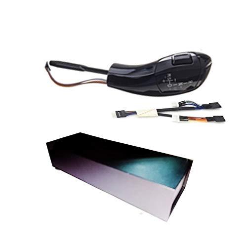 HZJA Auto Schaltknauf Schalthebel Automatik-Gangschaltung Mit Licht Für BMW E39 E53 E46 E60 E61 E90 E92 E93 E87 E83 X3 Schaltknauf (Color : E83 X3 Black)