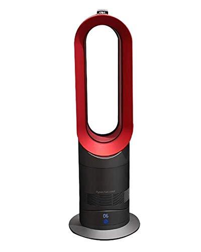 SONGAI Termoventilador Ventilador portátil y de Calor, Plancha Rojo, Ventilador de Pedestal y Calentador Combinado.