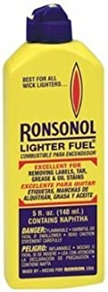 Ronson Consumer Prod 99061 5-Ounce Ronsonol Lighter Fuel (Pack of 6)