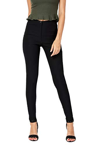 eyes girls skinny school trousers