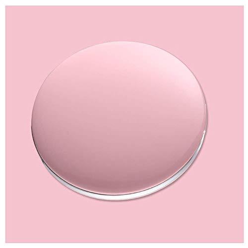 Wlylyhjy Miroir Portable, Double Face Miroir De Maquillage 3 Fois Loupe À Trois Vitesses Dimming Doux Lumières LED Dual Power La Finition Est Bonne