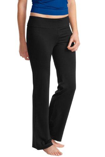 Sport-Tek Ladies NRG Fitness and Yoga Pants. LPST880 - Large - Black