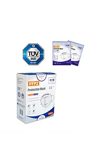 10 Stück FFP2 Maske von FEILIKANG CE Zertifikat + TÜV-SÜD Herstellergeprüft einzeln verpackt Mund Nasenbedeckung