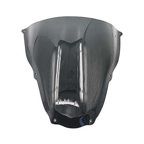 Deflector de Parabrisas Alerón De Extensión De Parabrisas De Motocicleta, Accesorios Deflectores Delanteros Negros Transparentes para Aprilia RS50 RS125 RS250 2006-2011