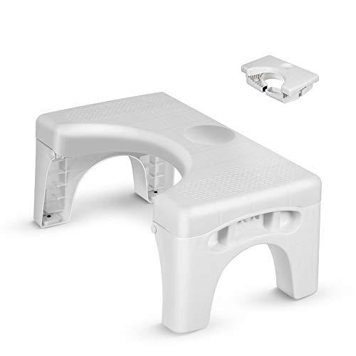 Folding Toilet Stool, Enow Multi-Function Foldable 7