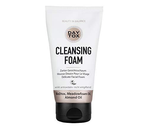 DAYTOX - Cleansing Foam - Zarter Reinigungsschaum für das Gesicht - Vegan, ohne Farbstoffe, silikonfrei und parabenfrei - 150 ml