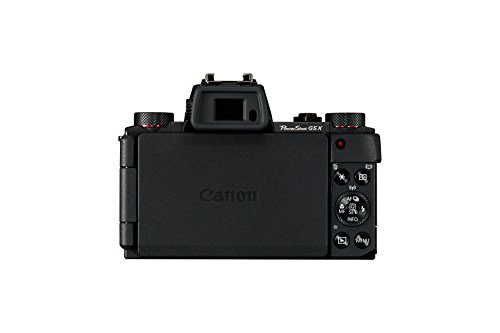 Canon PowerShot G5 X Digitalkamera (20,2 MP, 7,5cm (3 Zoll) WLAN, NFC, Image Sync, 1080p, Full HD) schwarz