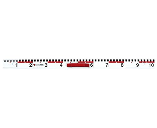 Geoliner Lineal - Tafelzeichengeräte Zeichengeräte Tafel Schule Lehrer lernen Mathematik-Unterricht Geometrie lehren Schultafel Tafelmaterial