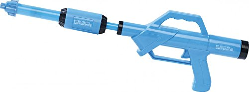 PEARL Wasserspritze: Wasserpistole mit PET-Flaschen-Anschluss (Wasserpistole Große Reichweite)