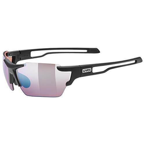 uvex Unisex– Erwachsene, sportstyle 803 small CV Sportbrille, black mat, one size