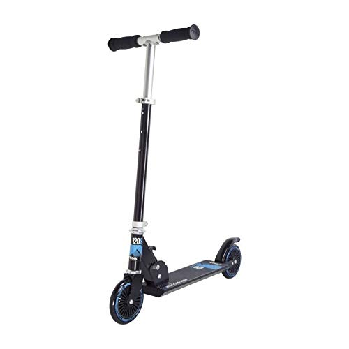 Stiga Kinder STR Comet 120-S Kickscooter, Black/Blue, One Size