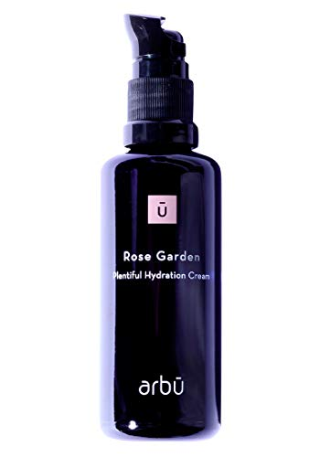 ARBŪ Crema facial facial para mujer, rosa de jardín, plentiful Hydration Organic Cream