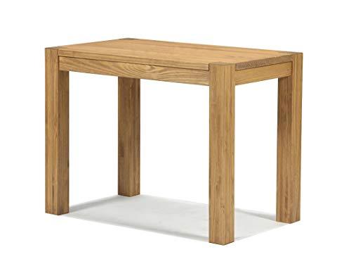 Naturholzmöbel Seidel Esstisch 100x60cm Rio Bonito Farbton Honig hell Pinie Massivholz geölt und gewachst Holz Tisch Küchentisch für Esszimmer Wohnzimmer Küche Optional: passende Bänke