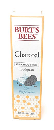 Burt's Bees Charcoal + Whitening Fluoride-Free Toothpaste