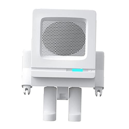 MagiDeal Lindo Altavoz Bluetooth Portátil con Sonido Estéreo Robot Audio Teléfonos de Oficina