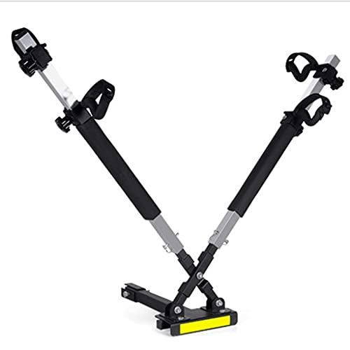 """LZL 2 Bike Rack Bicycle Carrier Racks Hitch Mount Double Foldable Rack for Cars, Trucks, SUV's and minivans with a 2"""" Hitch Receiver"""